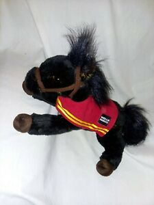 Wells Fargo - Plush Horse - Legendary Stuffed Pony - Mike - 2016 Black - Bank