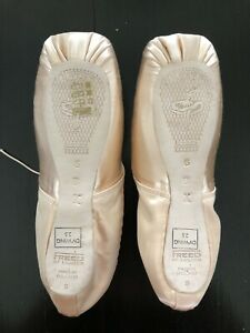 FREED OF LONDON Pointe Shoes- Size 6X - DV Wing Block 2.5 - Maker 'B' Brand New