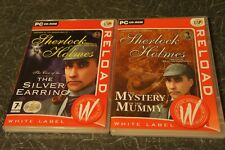 Sherlock Holmes The Mystery of the Mummy and SH the case of silver earring - PC