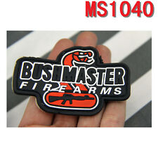 Original New Militaria PVC Magic Patches Biker Outdoor Bushmaster Firearms New
