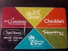 $100 Olive Garden Gift Card Darden - Longhorn, Bahama Breeze, Seasons 52, etc