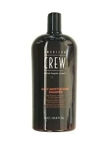 *1-Pack* American Crew Daily Moisturizing Shampoo For All Types Of Hair 33.8 Oz
