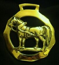 Big Harness Horse In Shaped Frame Harness Brass from England Wow Your Walls!