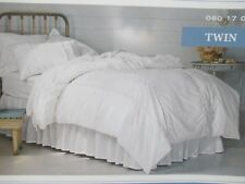 Simply Shabby Chic Duvet Cover Set White Twin  and Full/Queen NEW