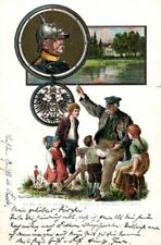 21936/ Künstler Ak, Litho,  Wittmüller, Bismarck, 1899