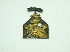 ANTIQUE KNIGHTS OF PYTHIAS FCB MEDAL DATED 1874