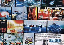 Publicité Advertising 026 1964 Scalextric circuit auto Meccano  (2 pages)