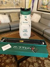 TaylorMade Tiger Woods Masters Commemorative Set & RARE Custom Bag  P•7TW 3-PW