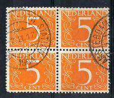 NETHERLANDS = POSTMARK - `AMSTERDAM CENTRAL STATION` 1964 Double Ring.