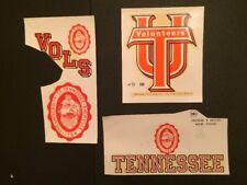 University of Tennesse College Decal Lot (4) Logos ~ True Vintage Vols 1950s