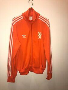 Adidas originals Nederland Holland vintage world cup Track Jacket Size Medium