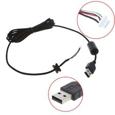 2m Durable Nylon Braided Line USB Mouse Cable For Logitech G9 G9X