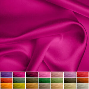 """100% Pure Silk fabric Satin - 30 momme - Multiple Colours - 45"""""""