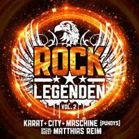 CITY,MASCHINE (PUHDYS),MATTHIAS REIM KARAT - ROCK LEGENDEN VOL.2   CD NEW+
