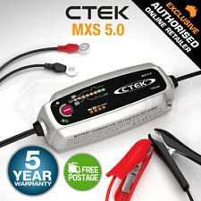 CTEK MXS 5.0 12V 5Amp Smart Battery Charger Car Boat 4WD Caravan Bike Marine AGM