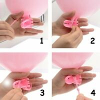 Easily Knot Latex Balloon Knotter Fastener Tools Wedding Party Accessories