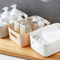 Storage Box Plastic Basket Kitchen Desktop Sundries Snack Cosmetic Container