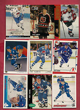 9 X 1990S QUEBEC NORDIQUES JOE SAKIC  CARD