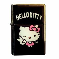 Hello Kitty Flip Top Windproof Flip Top Lighter Metal Cute Pink...FL3