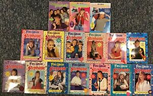 Lot Of 16 Full House Stephanie & Club Stephanie Chapter Books Vintage 90s EUC