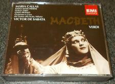 VERDI-MACBETH-EMI 2xCD 1993-MARIA CALLAS/MASCHERINI-DE SABATA-1952-RARE