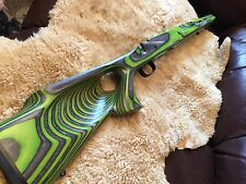 PRECISSION FIT REMINGTON 770 L/A GREEN LAMINATE STOCK - THUMBHOLE CUSTOM STOCK