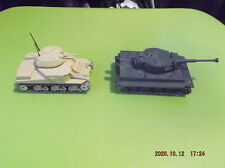 Solido M3 Grant & Tiger Die-Cast Tanks 1:50 Scale Good Condition