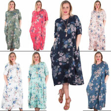 Vestidos de mujer de color principal multicolor 100% algodón