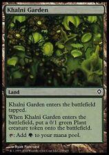 *MRM* FR 4x Jardin de Khalni (Khalni Garden) MTG Worlwake