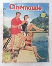 CINE-REVUE 13 aout 1954 DANIELE DELORME JEAN PIERRE AUMONT FRANCOISE CHRISTOPHE