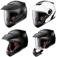 Nolan N40-5 GT Classic N-Com Adventure Motorcycle Helmet Off Road Black White