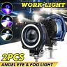 2X40W LED LUCE FARO LAMPADA DA LAVORO FARETTO AUTO BARCA CAMION KLW MOTO SUV 12V