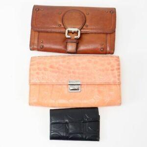 Salvatore Ferragamo Chloe Isola Key Case Wallet Lot of 3 Used Authentic 82456-24