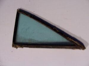 1960 CHEVY BEL AIR LEFT REAR SIDE QUARTER WINDOW GLASS 4 DOOR SEDAN OEM USED
