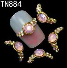 Lots Style Nails Decorations 3D Nail Art Glitter Acrylic Supplies 10pcs Women