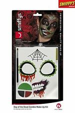 Halloween Day of the Dead Zombie Makeup Kit
