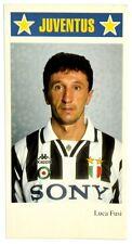 Piccolo Cartoncino Juventus - Luca Fusi