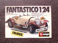 K847-Advertising Pubblicità-1984- BBURAGO , MERCEDES SSK