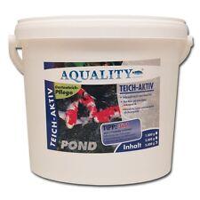 (9,00€/kg) AQUALITY TeichAktiv 5.000 g entfernt wirkungsvoll Teichschlamm