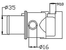 VALVOLA TERMOSTATICA FIAT CINQUECENTO (170) 0.9 91>93