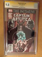CGC SS 9.8 Captain America #26 signed by Joe Quesada Winter Soldier