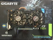 Gigabyte Geforce GTX 750 Ti Graphics Card 2048MB GDDR5 (2GB)