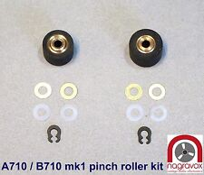 Revox Cassette B710 Studer A710 Pinch Roller Kit  - early type