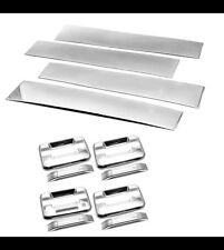 Stainless Steel Pillar Post+Handle Cover For 04-14 F150 Supercab / SuperCrew Cab
