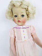 "Vintage Arranbee 14"" Hard Plastic Vinyl Head Blonde Hair Doll"
