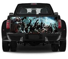 Truck Tailgate Graphics Zombie Apocalypse Vinyl Decal Full Color Sticker Wrap
