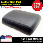 Fits 2005-2012 Nissan Pathfinder Leather Cetner Console Lid Armrest Cover Black