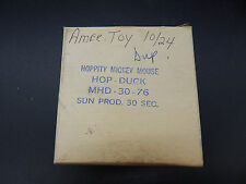 original vintage American Toy MICKEY MOUSE HOP DUCK 16mm commercial reel tv ad !