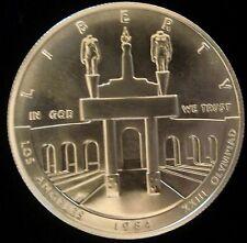 1984 Philadelphia Mint Commemorative 90% Silver Los Angeles Olympiad Dollar BU