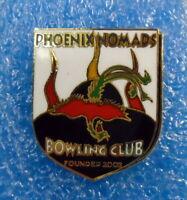 Phoenix Nomads Bowling Club Enamel Badge